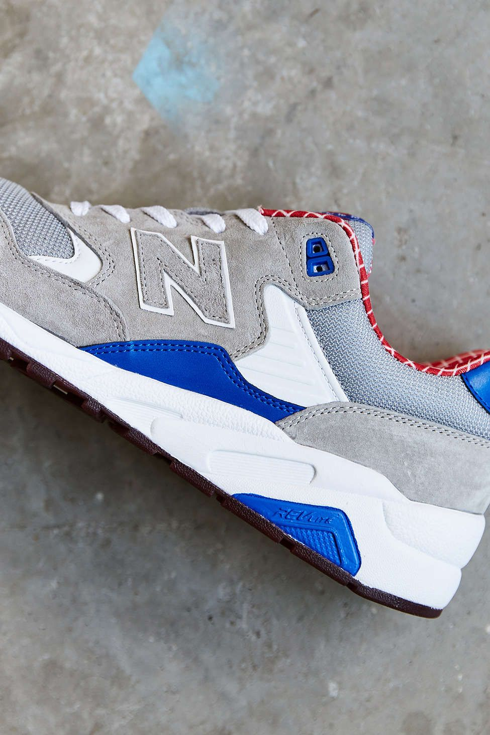 new concept 49842 b0e8b New Balance X Urban Outfitters 580: Blue/Red/Grey | Sneakers ...