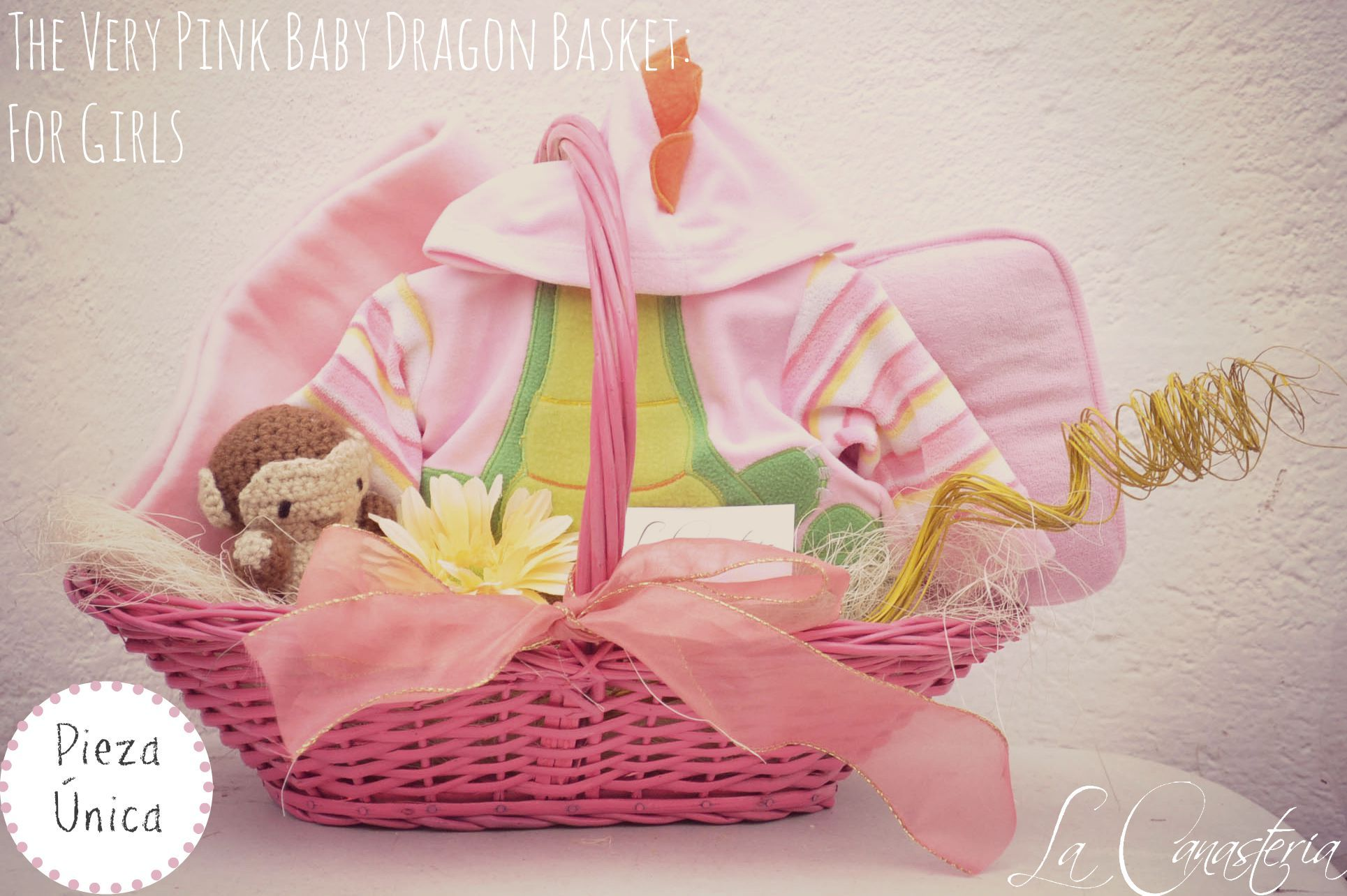 The very pink dragon baby basket for girls baby dragon - Alfombras hipoalergenicas ...