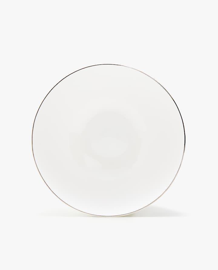 Porcelain Tableware With Silver Rim In 2019 Wishlist 2 Kitchen