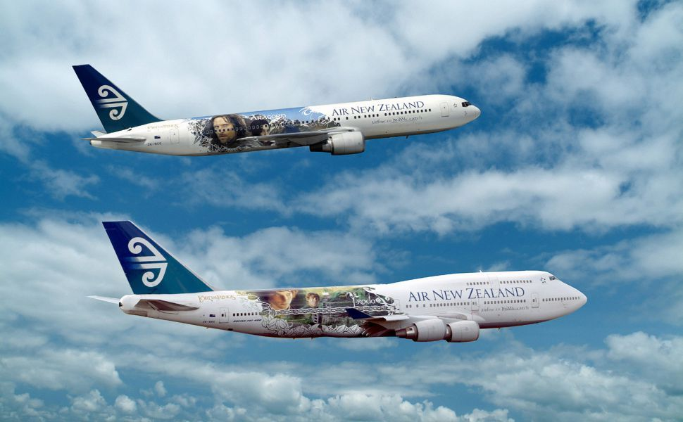 Air New Zealand Lord Of The Rings Hd Wallpaper Air New Zealand