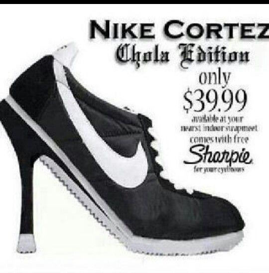 new styles 556ec c9cb3 ... Chola style lol · Nike CortezMexican .