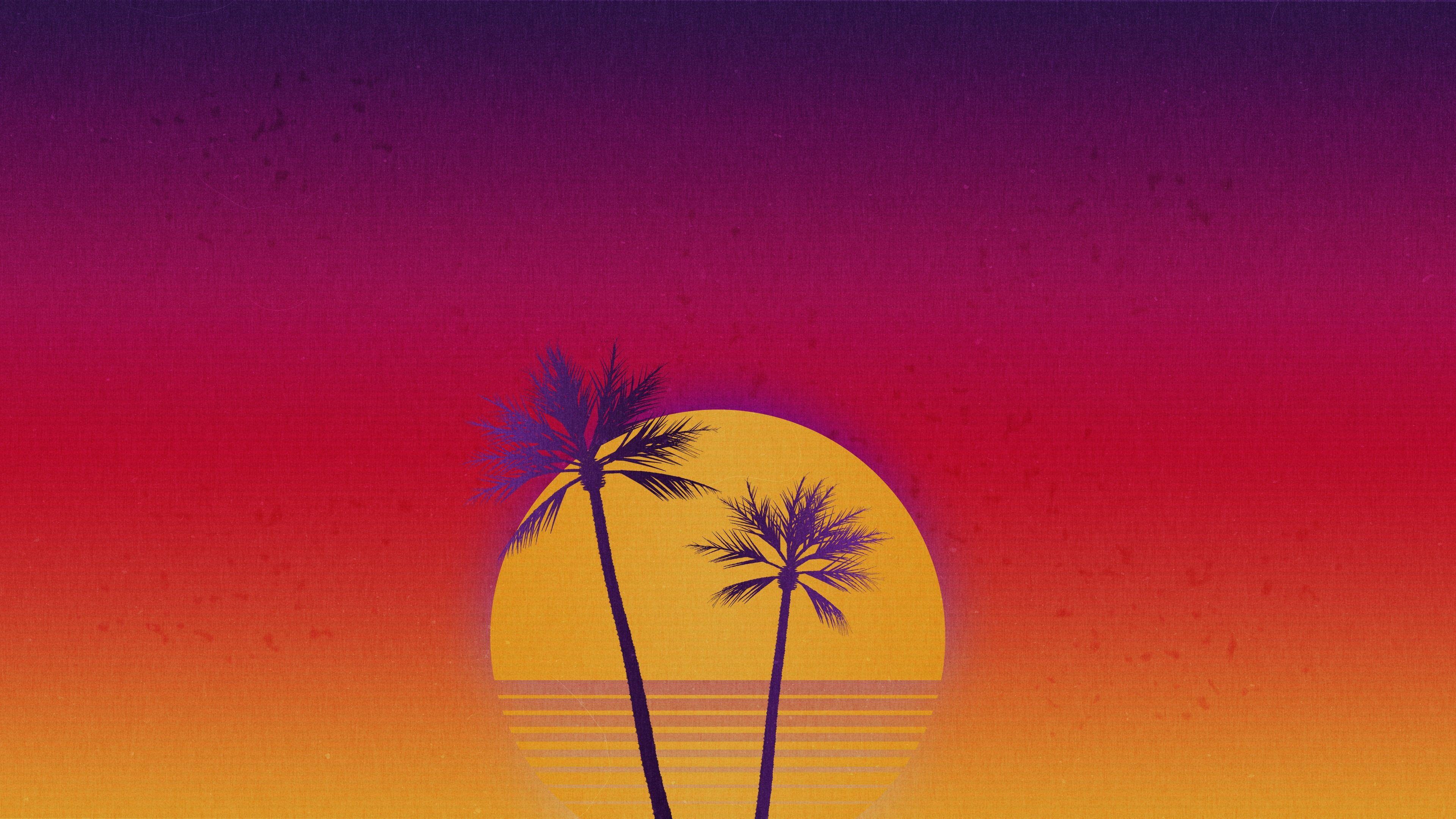 Outrun Sunset Vaporwave Retrowave Retrowave 4k Wallpaper Hdwallpaper Desktop Vaporwave Wallpaper Hd Wallpaper Pink Wallpaper Iphone