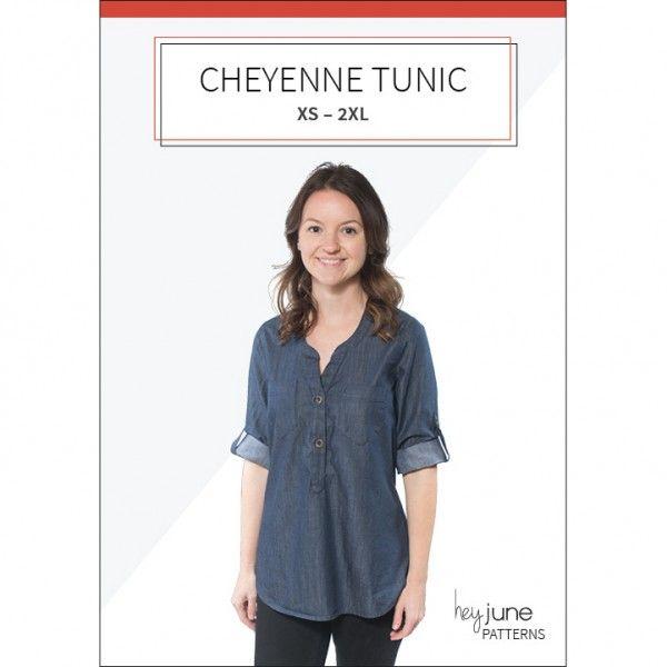Cheyenne Tunic   Sewing   Pinterest   Costura