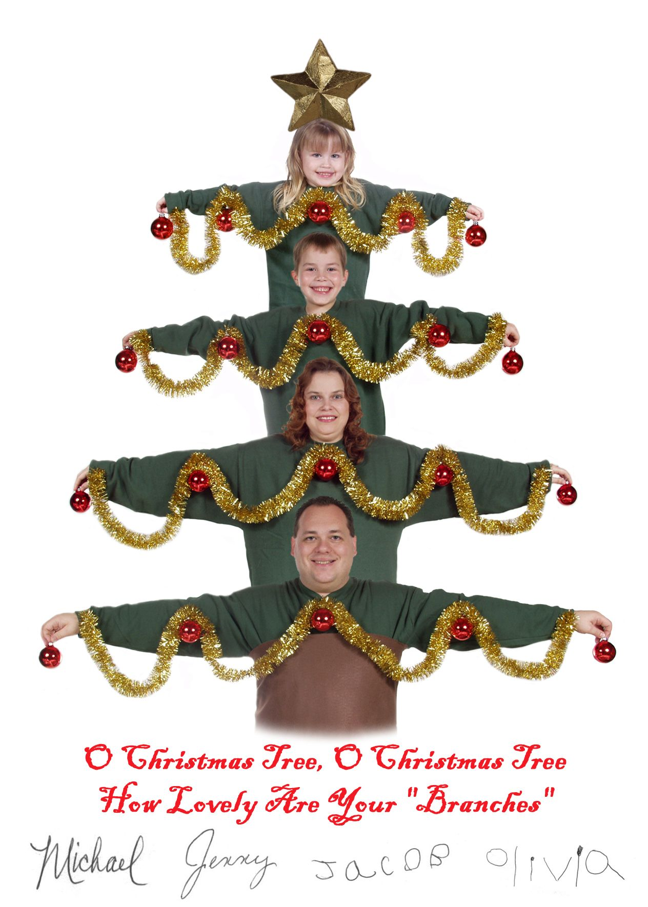 2003 O Christmas Tree O Christmas Tree How Lovely Are Your Branches Christmas Humor Funny Christmas Photos Family Christmas Pictures