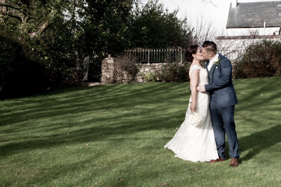 Gower Winter Wedding, Reynoldston, Swansea, South Wales, UK #brideandgroom