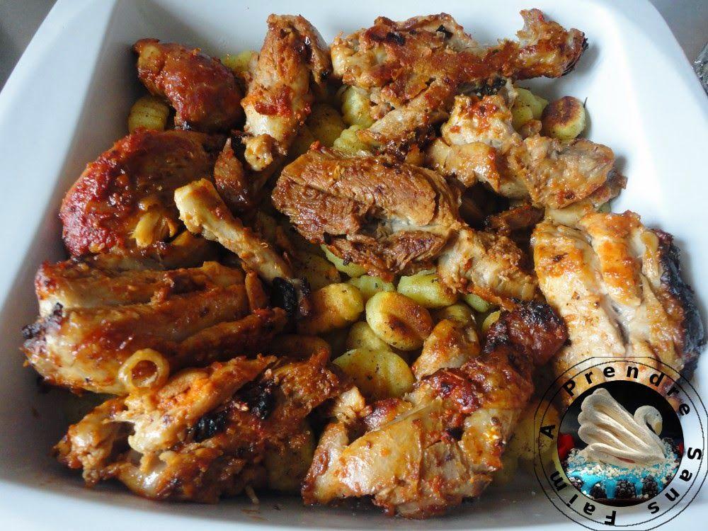 A Prendre Sans Faim: Poulet rôti aux épices et gnocchis croustillants http://www.aprendresansfaim.com/2015/01/poulet-roti-aux-epices-et-gnocchis.html