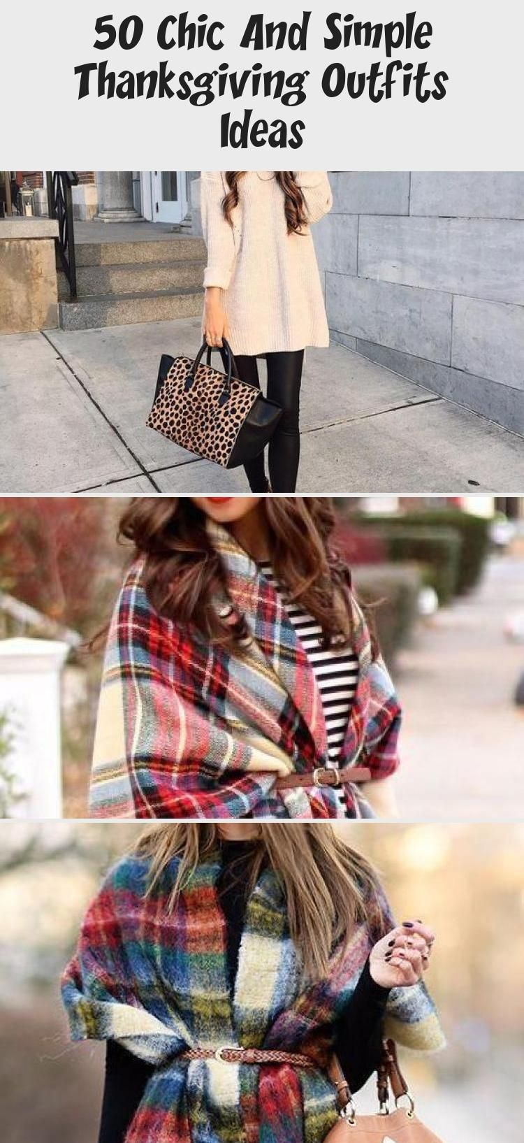 50 Chic And Simple Thanksgiving Outfits Ideas - Duds #thanksgivingoutfit