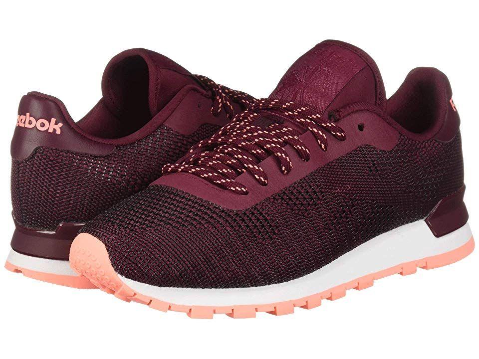 dbb0f895df2 Reebok Lifestyle Classic Flexweave Women s Classic Shoes Rustic  Wine Digital Pink