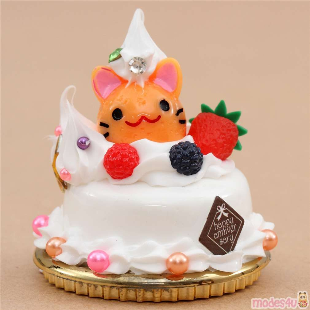 cute dessert figure by Amuse, Happy Anniversary cute ...