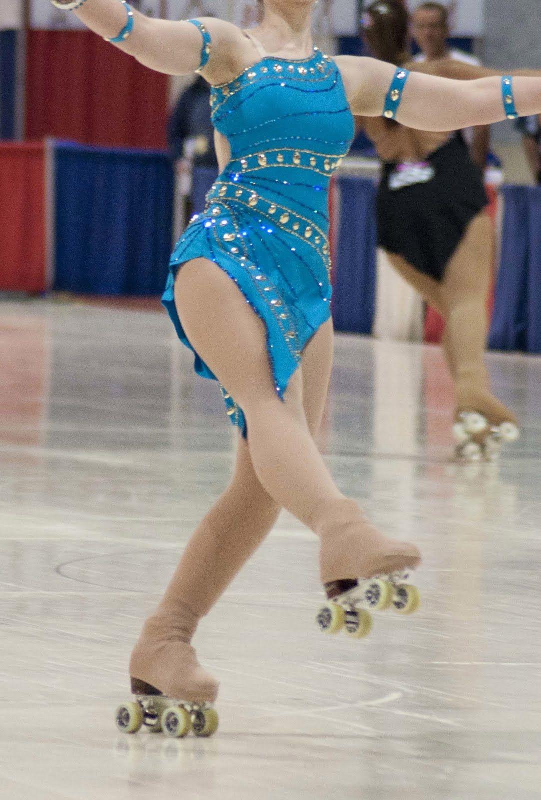 Roller skates dance - Artistic Roller Skating Dresses My Dance Dress The Front