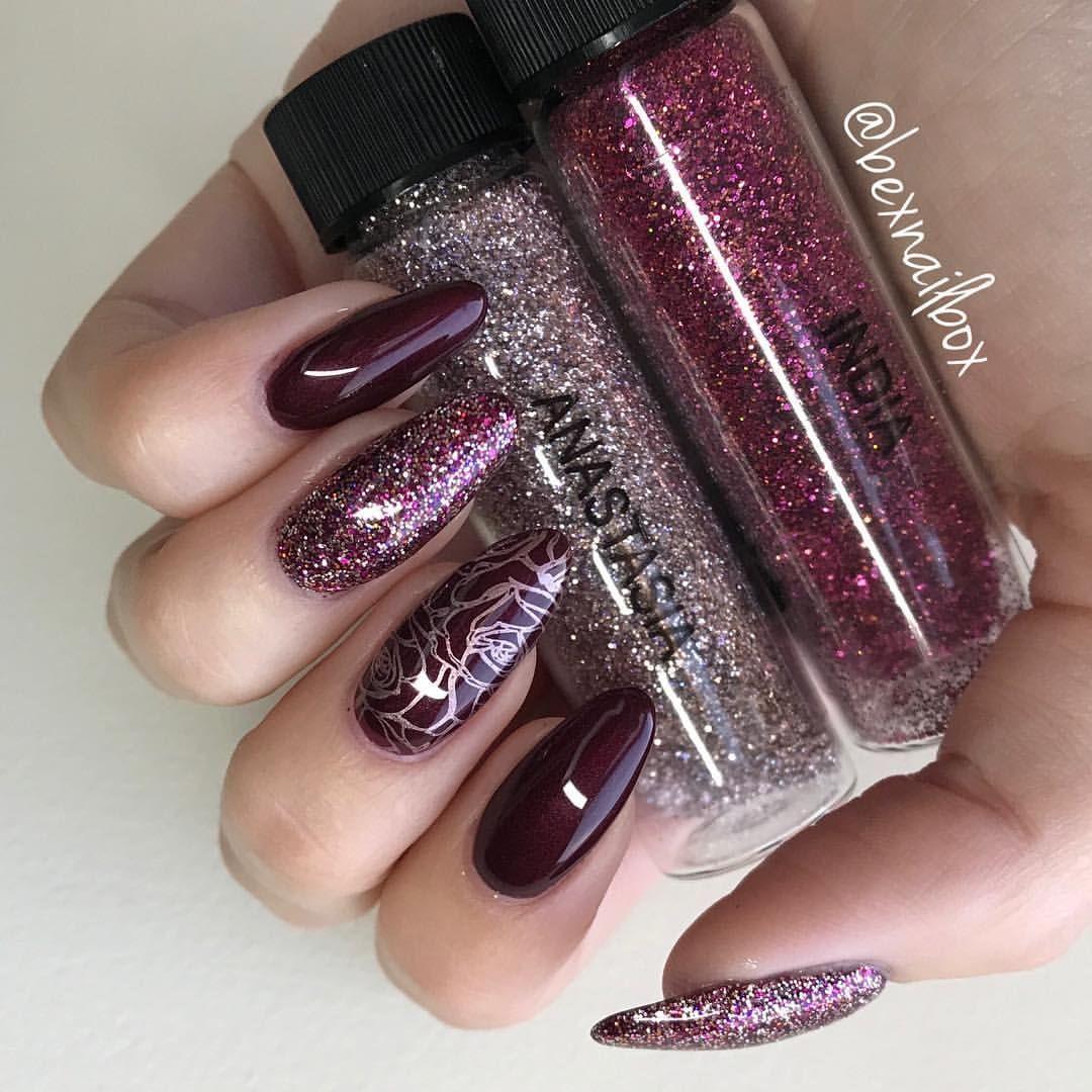 Magpie Glitter Mix, Anastasia & India #glitternails #glitter #nails ...