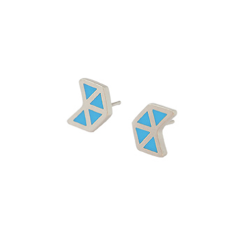 Iso flèche stud earrings