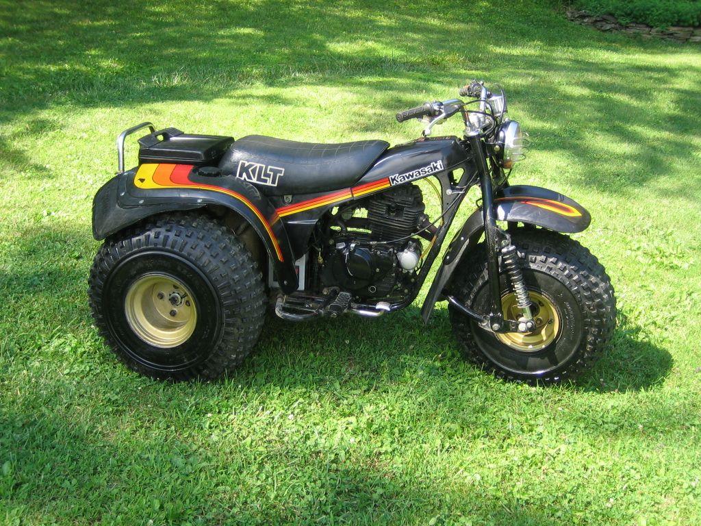 Kawasaki klt 250 trike