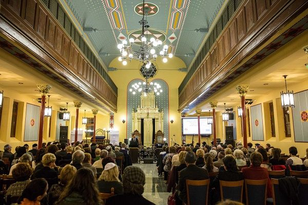 Debrecen Pasti street synagogue interior