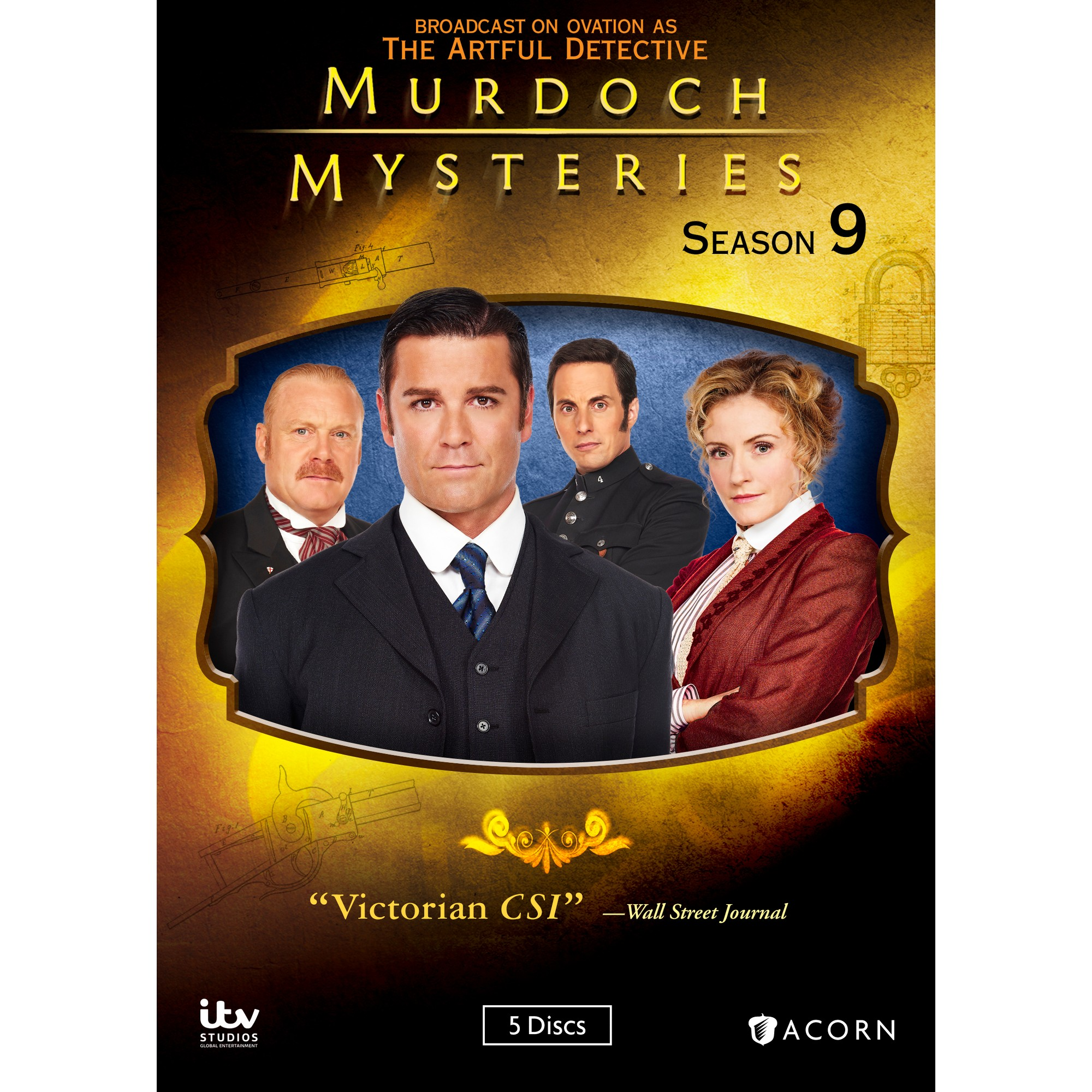 Artful Detective Christmas Special 2021 Murdoch Mysteries Season Nine Dvd 2016 In 2021 Murdoch Mysteries Mystery Mystery Novels