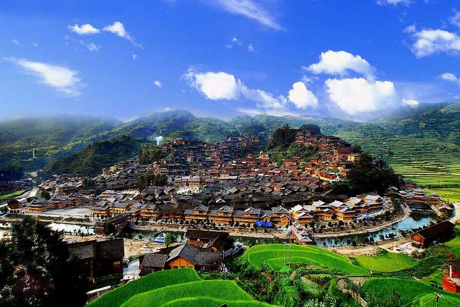 Miao Village in Guizhou