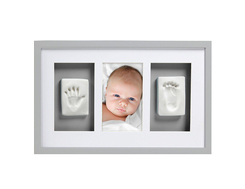 Pearhead Babyprints Newborn Baby Handprint and Footprint Deluxe Wall ...