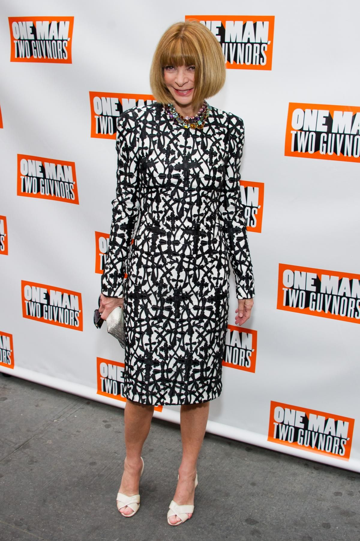 Anna Wintour at the opening of One Man, Two Guvnors in New York.