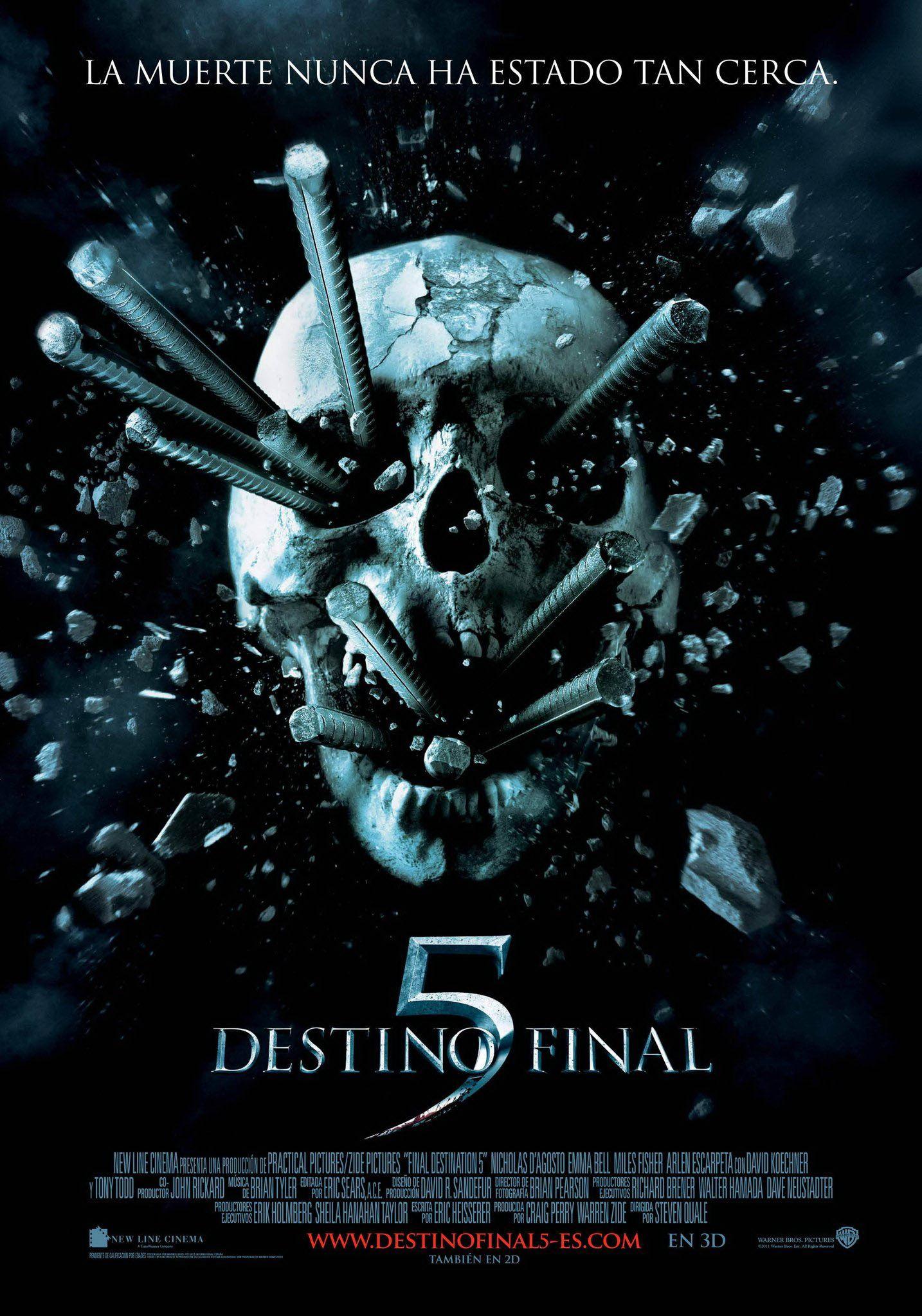Destino Final 5 Films Terror Peliculas Completas Peliculas Cine