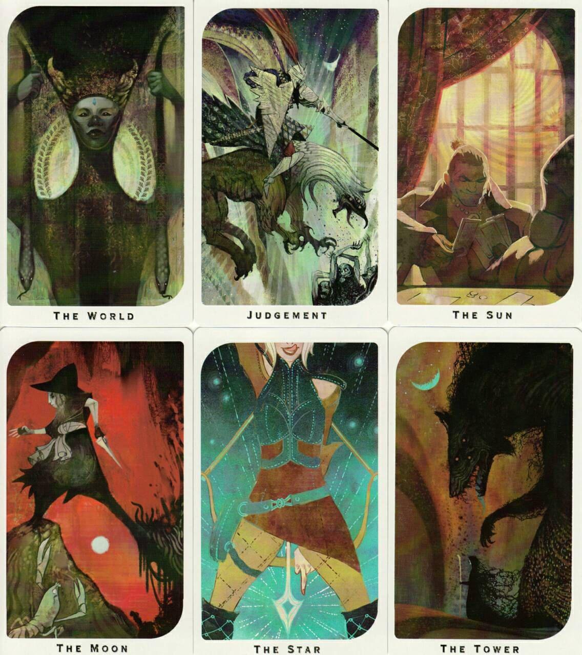 Dragon Age Inquisition Arcana Tarot Deck Dragon Age Tarot Cards