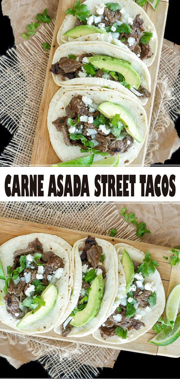 CARNE ASADA STREET TACOS #recipes #recipe #cookrecipes #recipebook #recipeoftheday #tacos #taco #food #foodrecipes #asadatacos