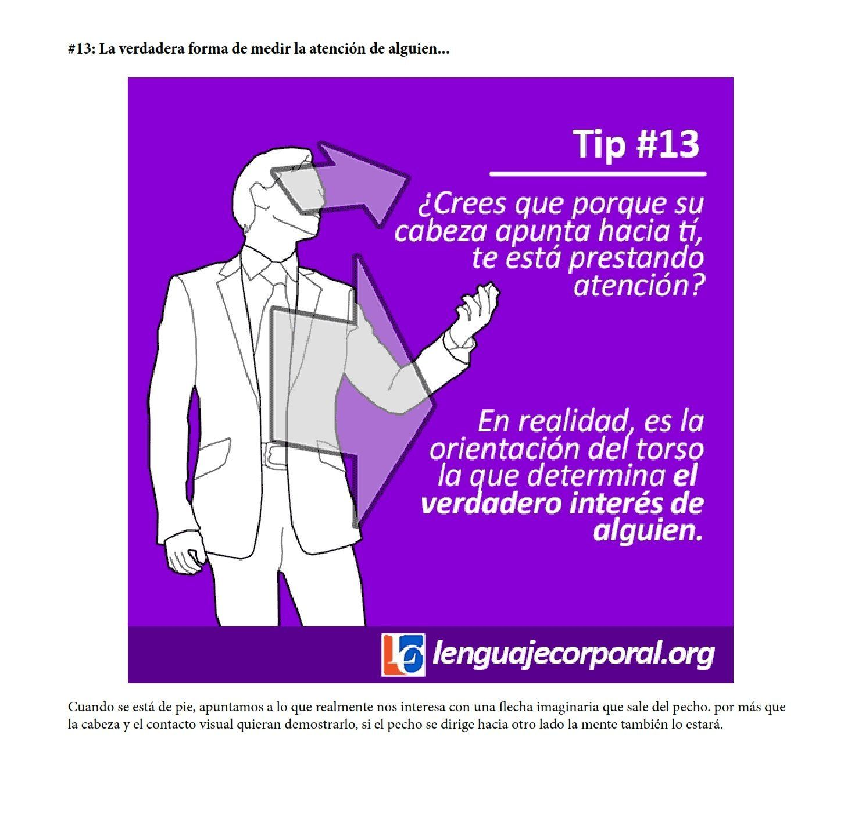 Megapost 50 Tips Del Lenguaje Corporal Nonverbal Communication Body Language Work Quotes