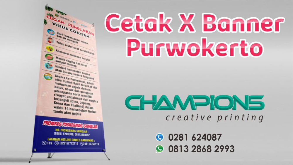 Cetak X Banner Purwokerto Banner Purwokerto Digital Prints