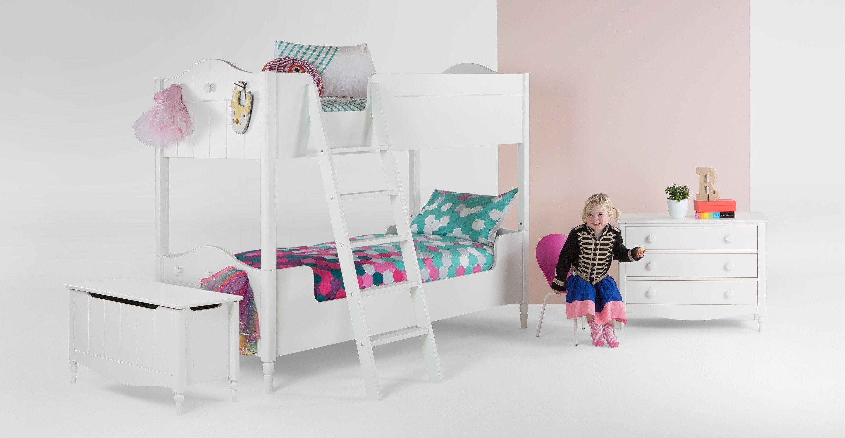 Etagenbett Holz Berlin : Cara etagenbett für kinder weiß