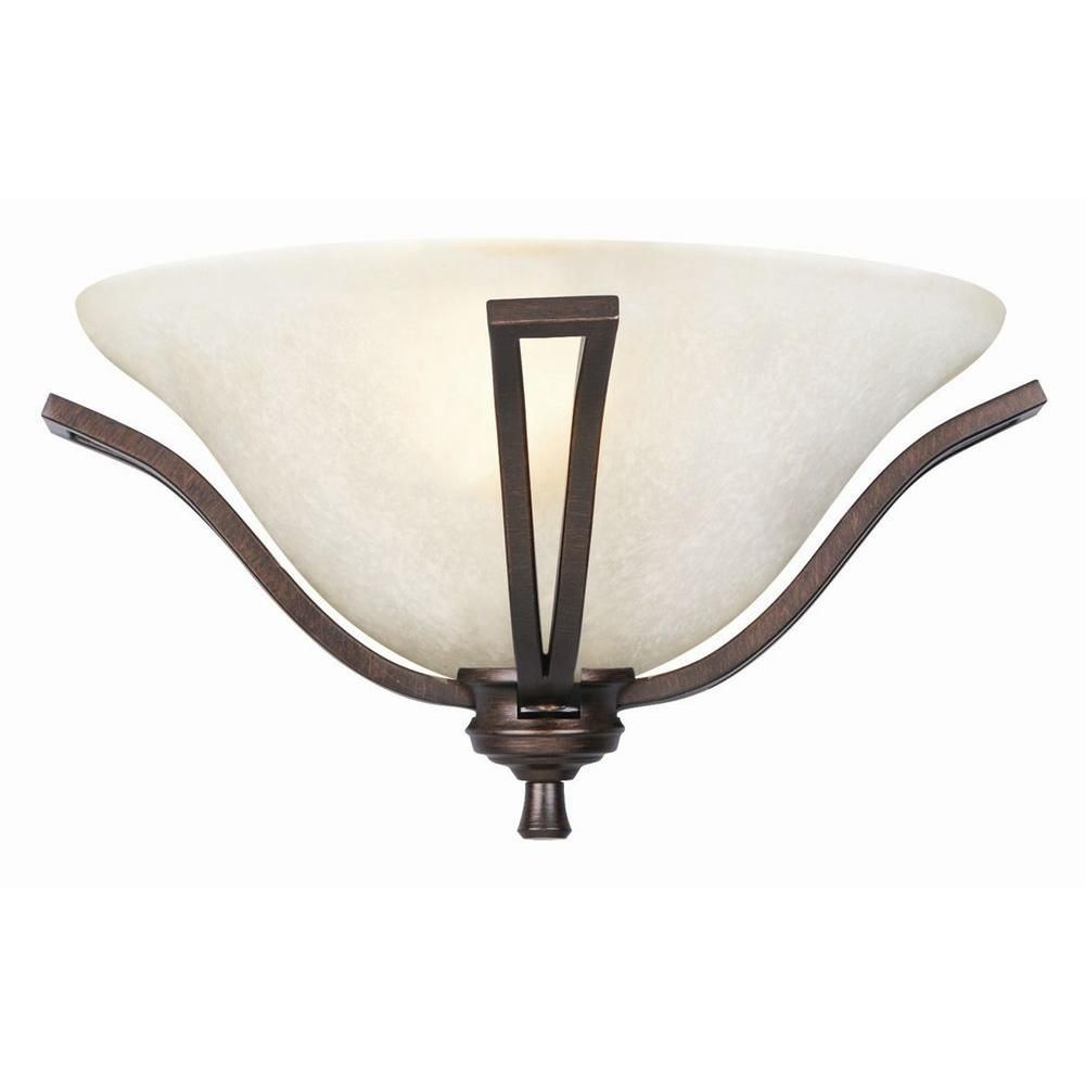 Design House Ironwood 1-Light Brushed Bronze Wall Sconce ... on Bathroom Sconce Lights Brushed Bronze id=40131