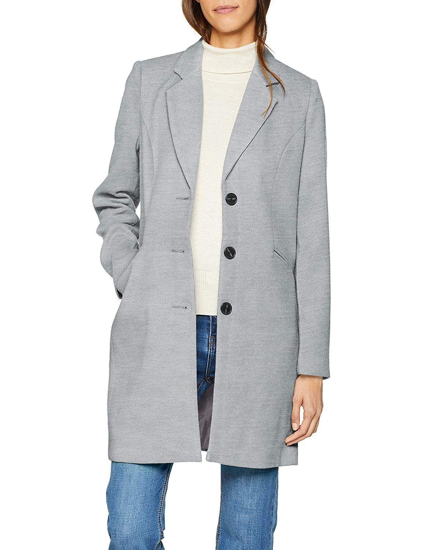 Abrigo gris amazon