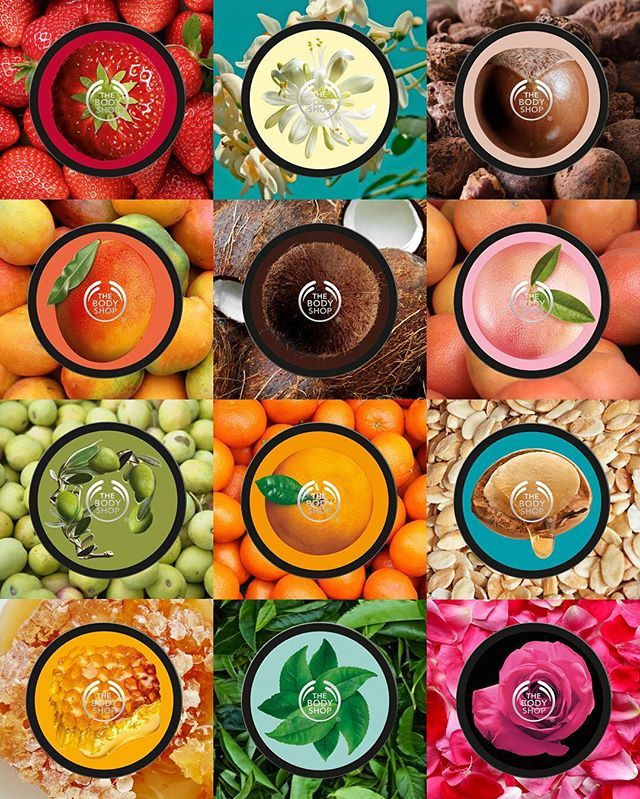 Our iconic range of Body Butters includes natural ingredients that will have your skin spring-ready in a jiffy. What's your favourite flavour for spring? #TheBodyShop #BodyButter #BodyCare