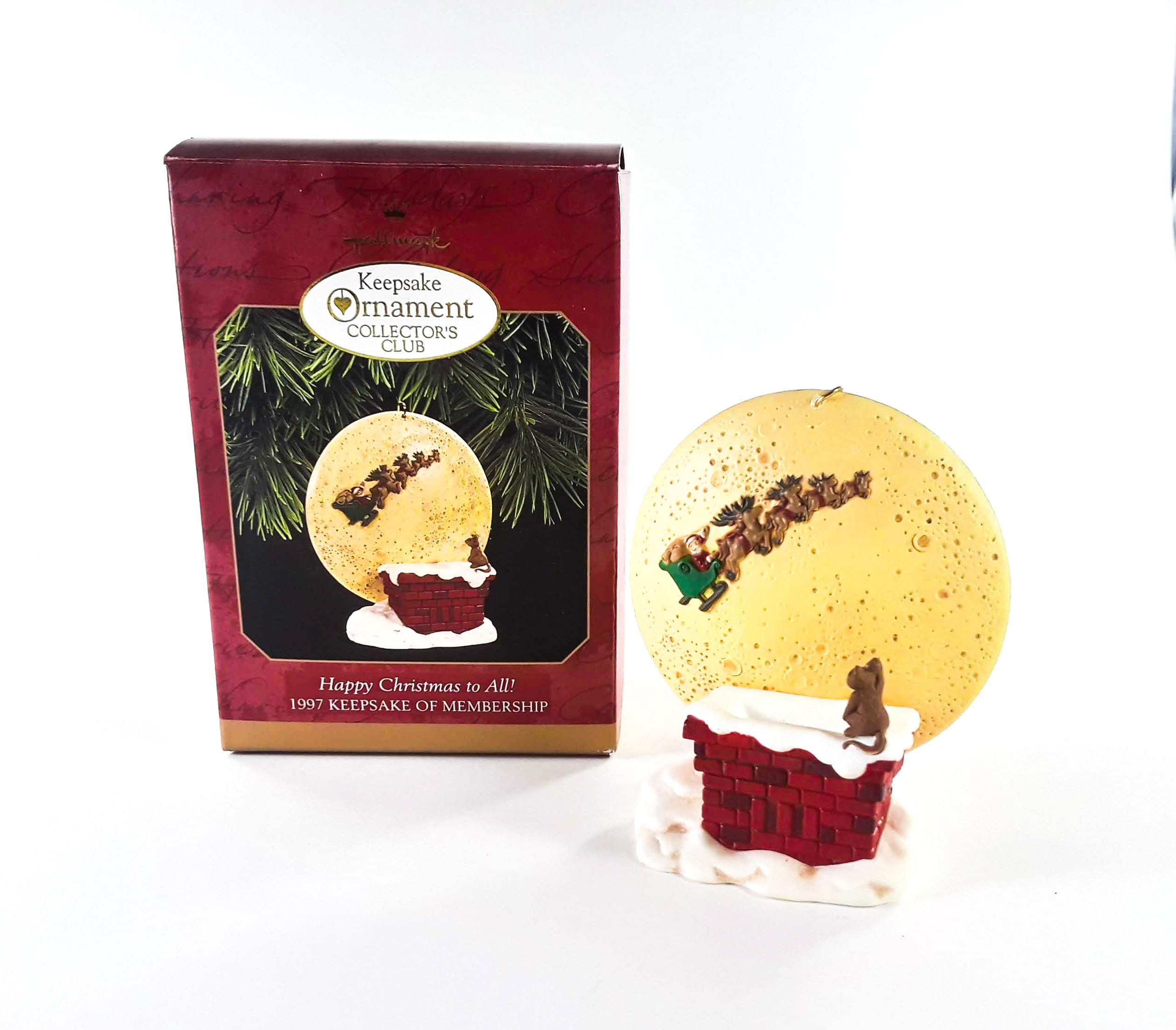 Hallmark Keepsake Christmas Ornament Happy Christmas to