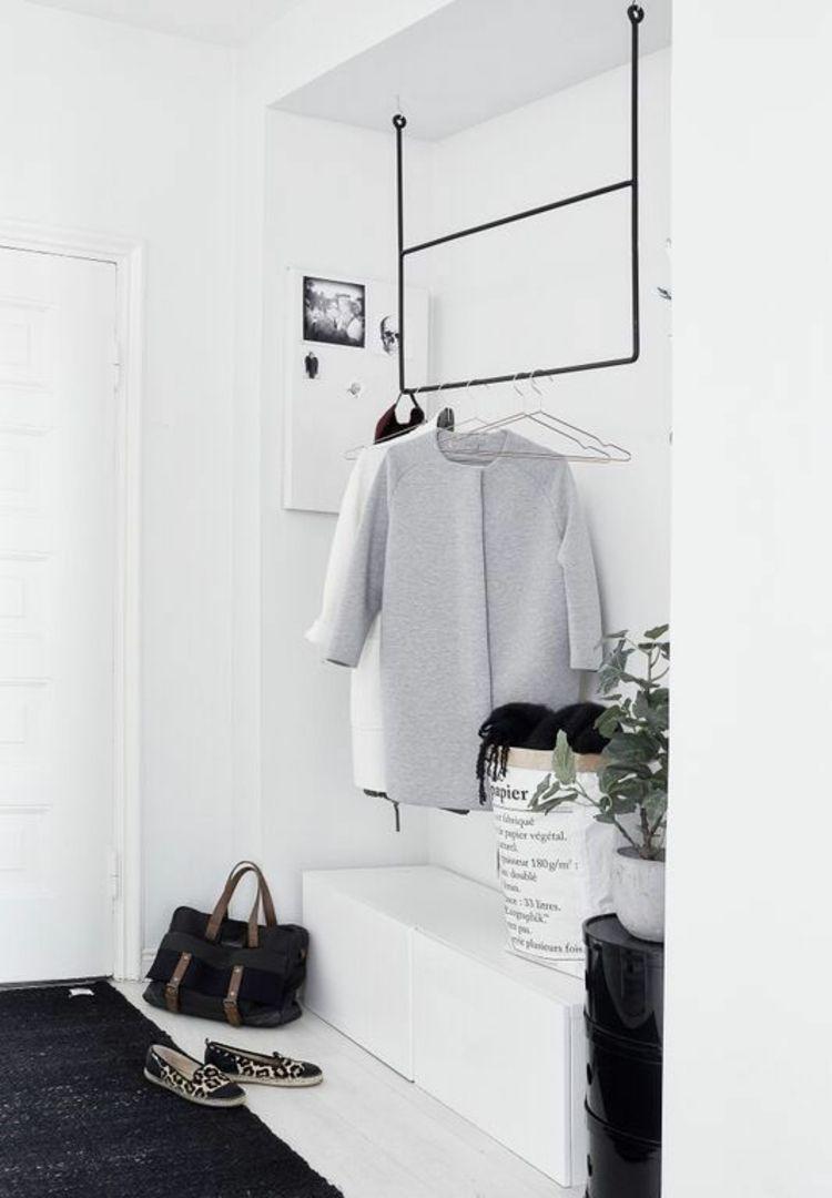 moderne garderoben tipps zur erneuerung der modernen garderobe skandinavische einrichtung. Black Bedroom Furniture Sets. Home Design Ideas