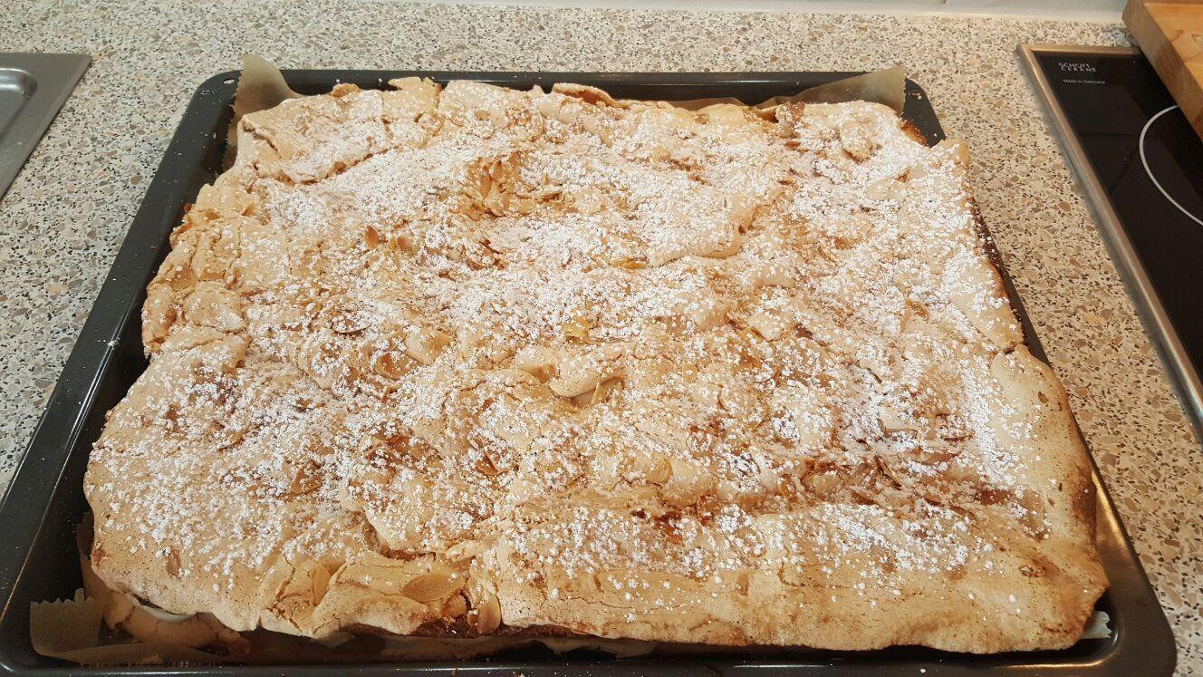 Apfel Baiser Blechkuchen Rezept Thermomix Kuchen Blechkuchen