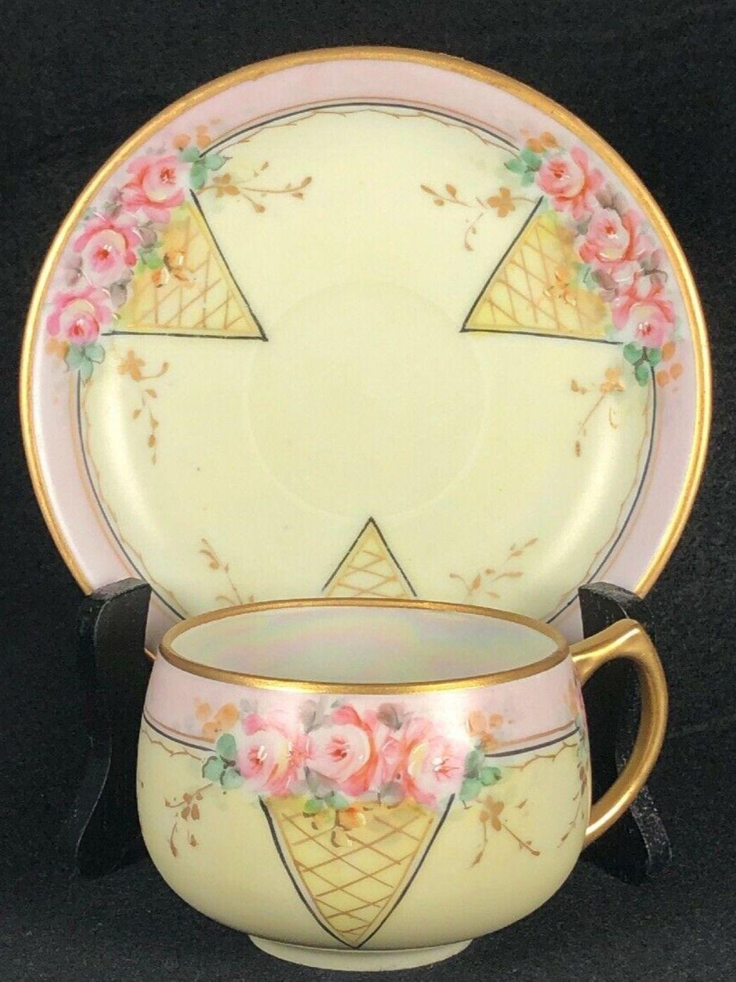 Hand Painted Bavaria Fine China Teacup