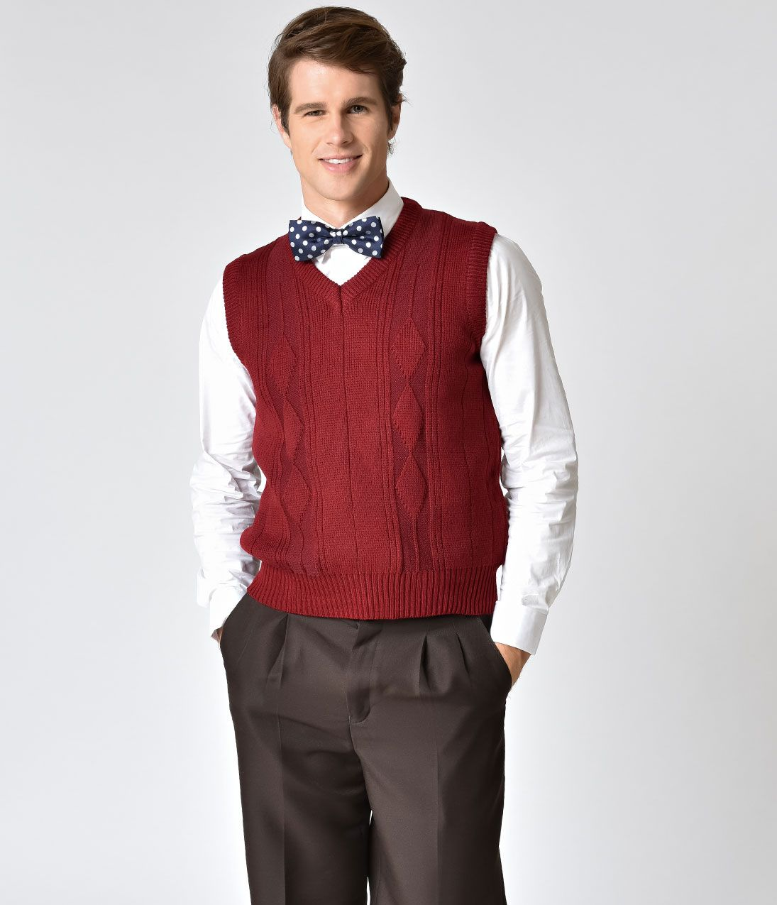 Men's Vintage Inspired Vests- 1920s, 1930s, 1940s, 1950s | Men's ...