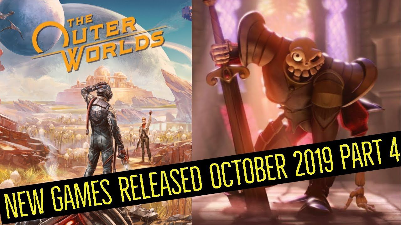 New Games Released October 2019 Part 4 The Outer Worlds Medievil