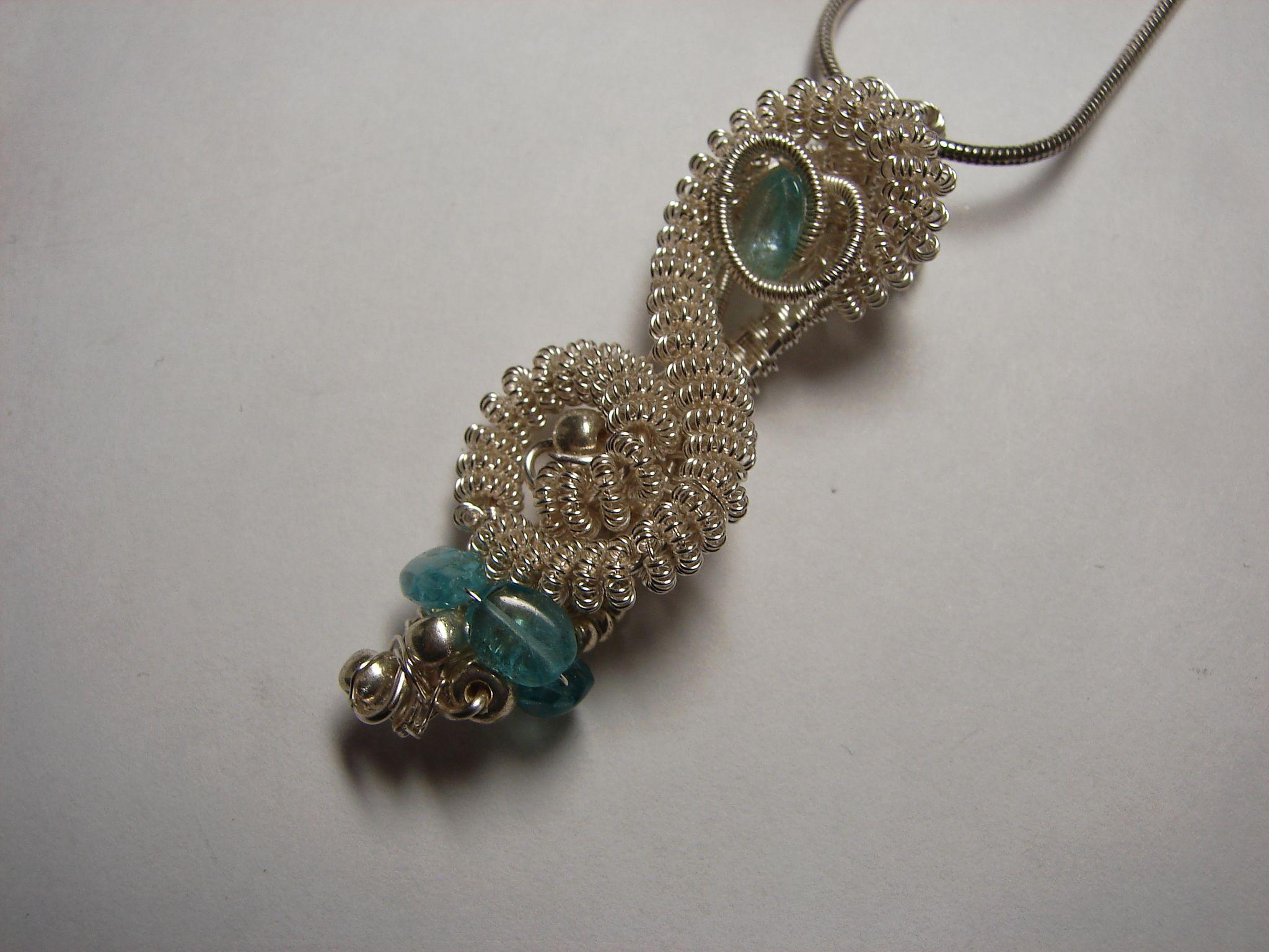 Wire Wrapped Jewelry, Wire Wrap Sea Glass and Gemstone Jewelry ...