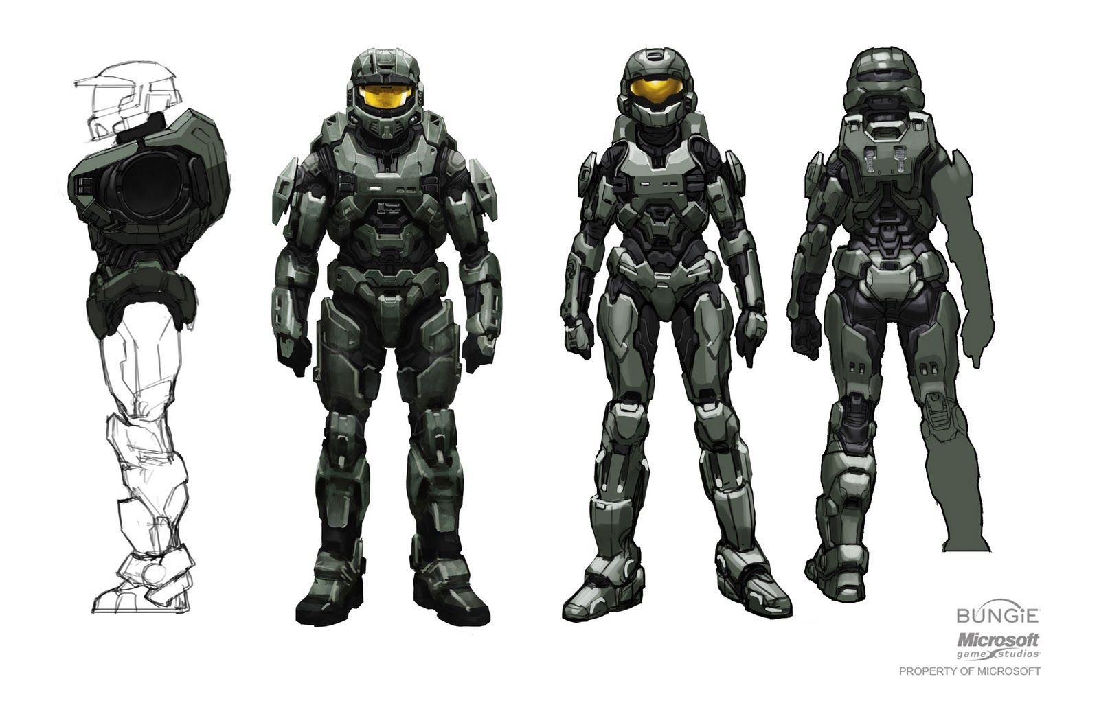 "Rather subtle and ""organic"" gender depiction // Halo ..."
