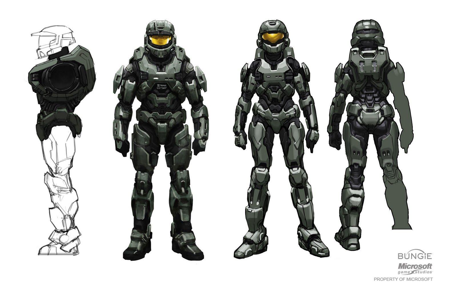 Mjolnir Armour Halo Reach Halo Armor Halo Reach Armor Halo