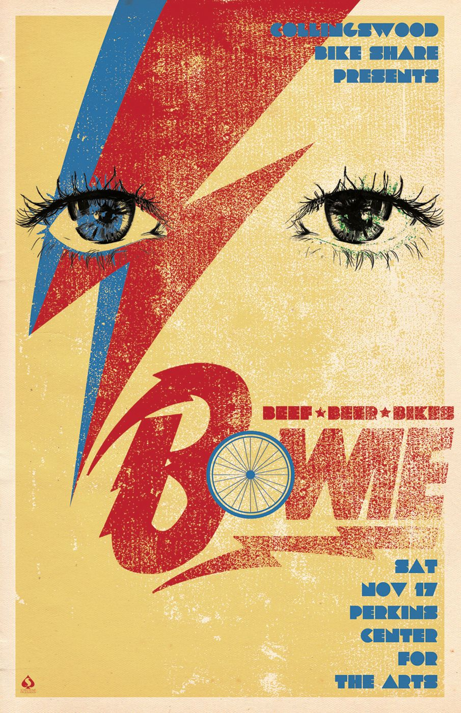 11x17 poster design - Poster Design 11 X 17 Collingswood Bikeshare Benefit Scarlet Rowe Image Design