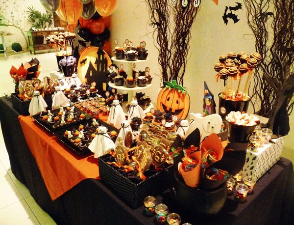 Tema: halloween.