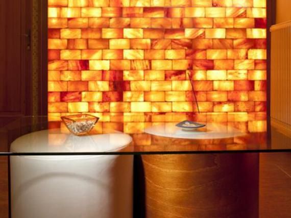 The Himalayan Salt Brick Besides All Its Health Benefits What An Eco Friendly Alternative For Building Decorative Walls