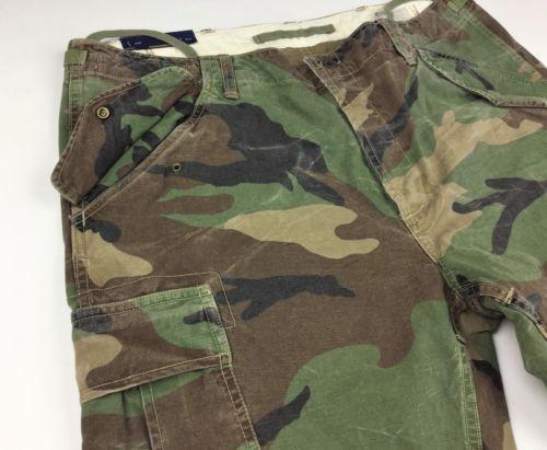 d04c535a6 Polo-Ralph-Lauren-Men-Military-USA-Army-Camo-Surplus-Cargo-Slim-Pants-Combat