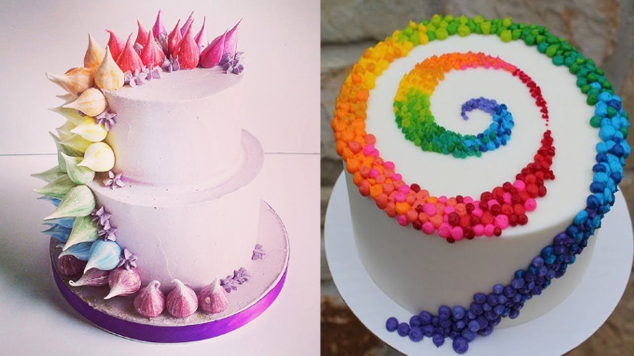 11 00 Top 20 Easy Birthday Cake Decorating Ideas Oddly