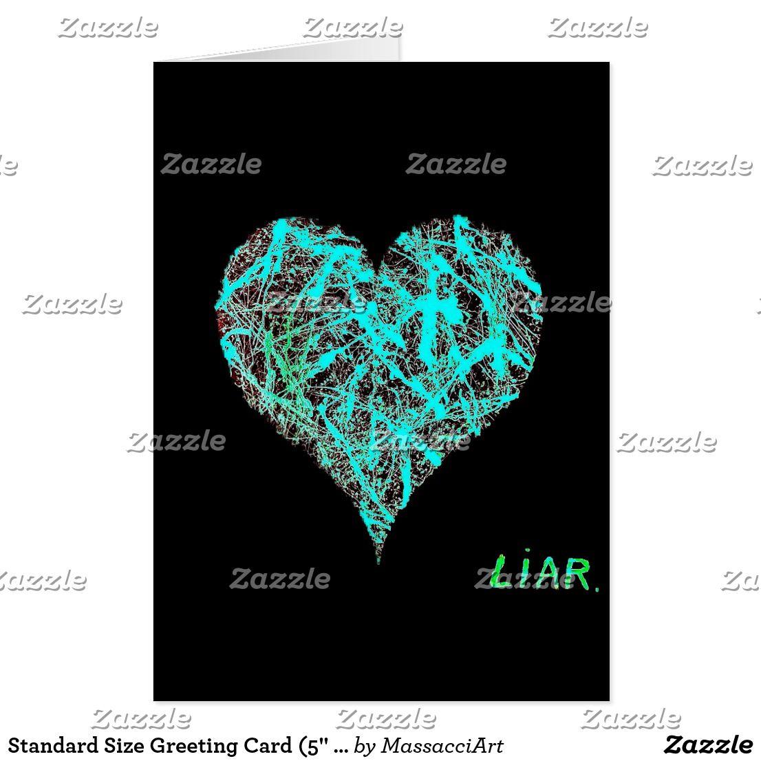Standard Size Greeting Card 5 X 7 Massacci Art Office Pinterest