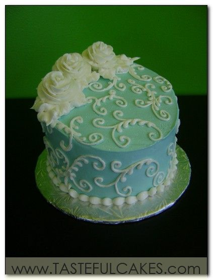 Elegant One Layer Cake This Single Tier Cake Forgoes Small