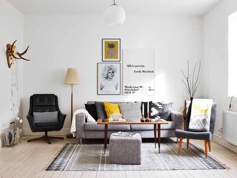 ★ EL #GRIS > Y sus miles de posibilidades decorativas. Así pinta la #decoración del #color más incomprendido. #tendencias