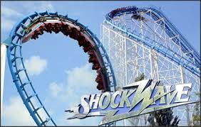 Shockwave Six Flags Great America Great America Six Flags Roller Coaster