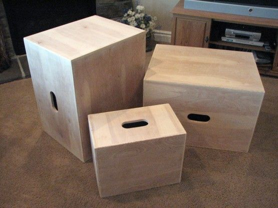 Diy Plyo Box Can Do 3 In 1 20x24x30 The Gymshop Pinterest